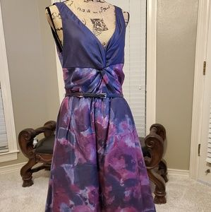 New dress with flowers